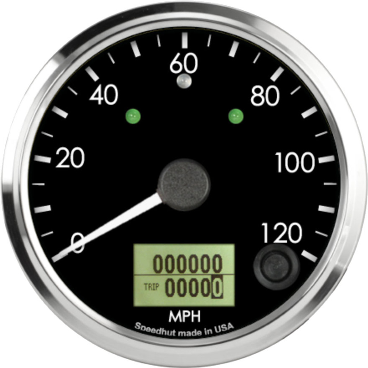 """3-3/8"""" Freedom CAN-BUS Speedometer 120mph (w/ turn signal and high beam)"""