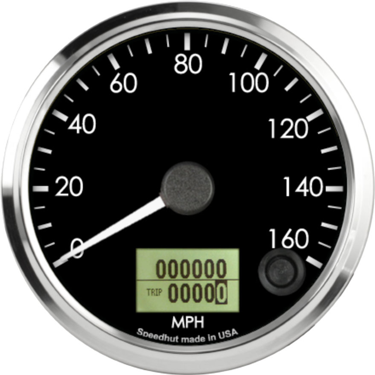"""3-3/8"""" Freedom CAN-BUS Speedometer 160mph"""