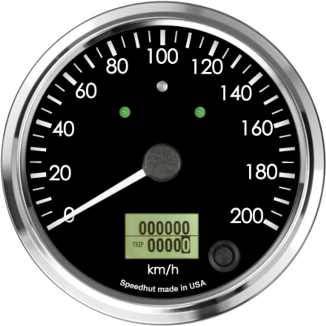 """4"""" Freedom CAN-BUS Speedometer 200 km/h Metric (w/turn signal and high beam)"""