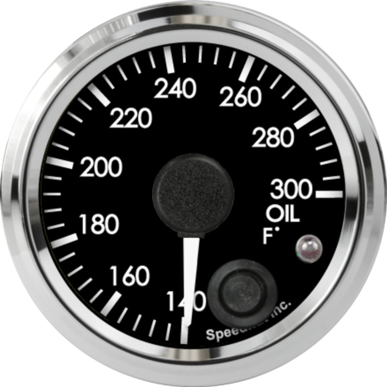 """2-1/16"""" Freedom CAN-BUS Oil Temp Gauge 140-300F (w/ warning) (For GM vehicles only)"""