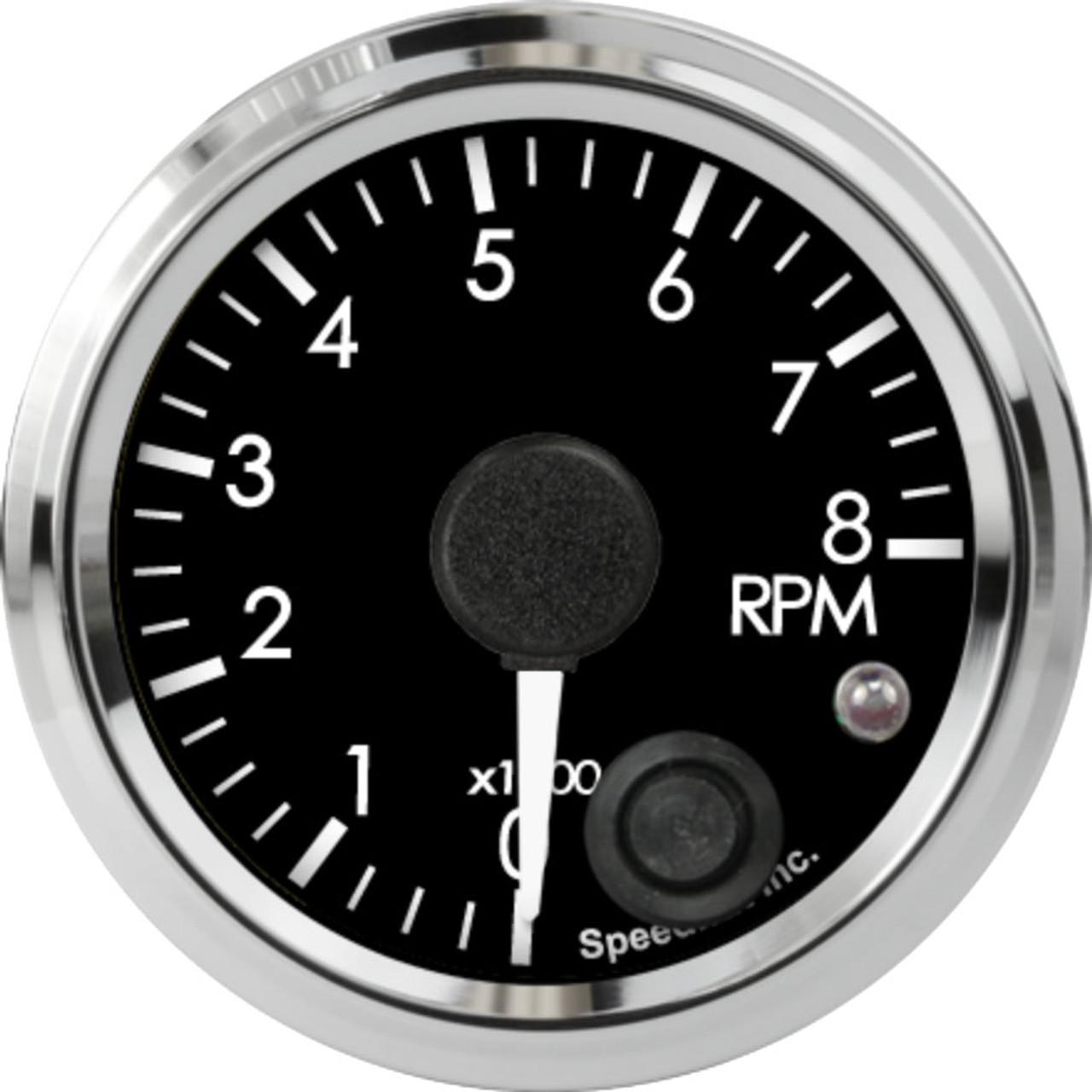 "2-1/16"" Freedom CAN-BUS Tachometer 8K RPM Shift-light"