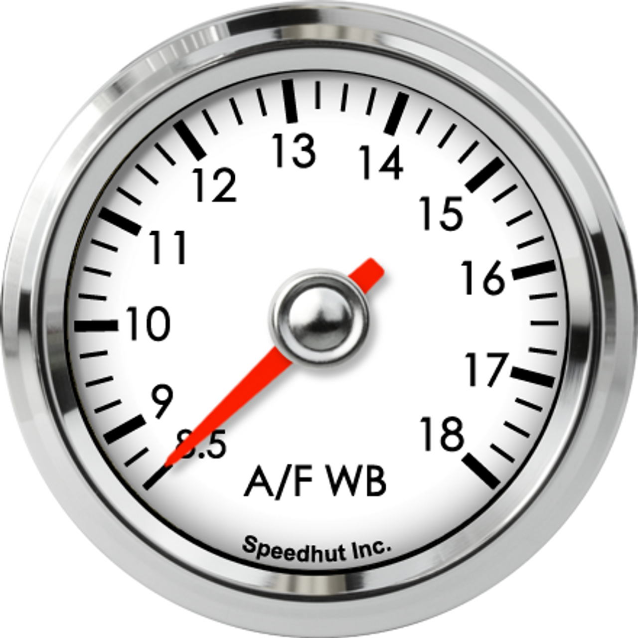 """2-1/16"""" Classic Standalone Air/Fuel Wideband with Analog Out, O2 gauge 8.5-18"""