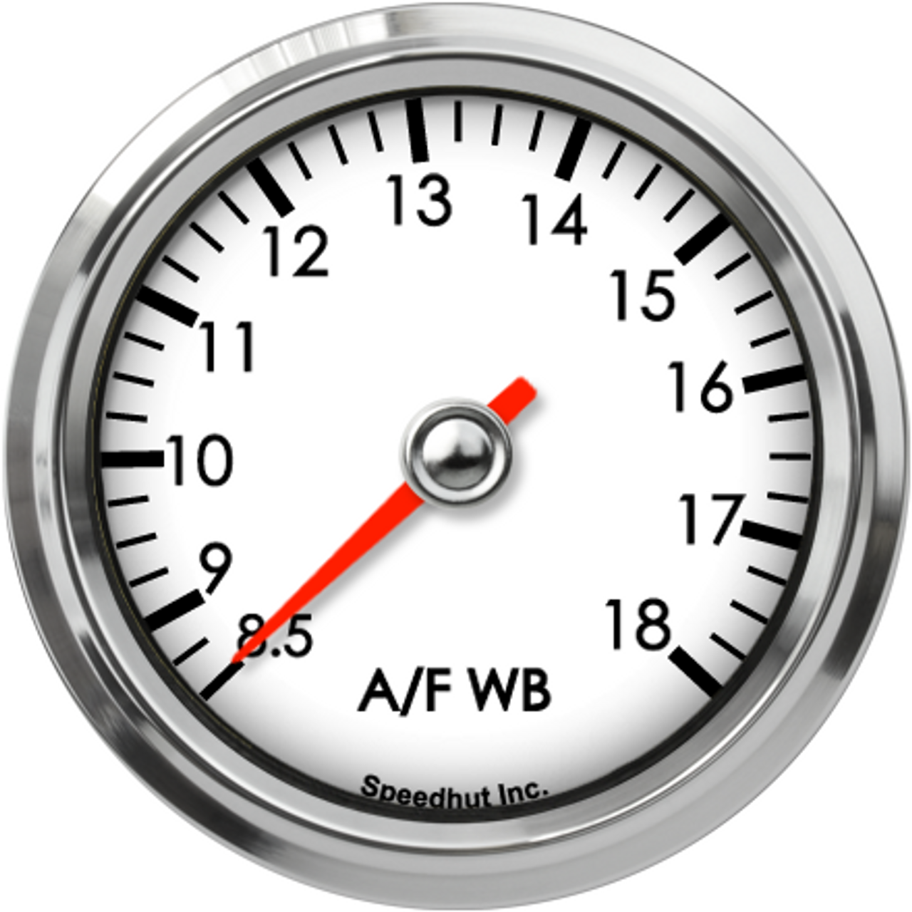 """2-5/8"""" Classic Standalone Air/Fuel Wideband with Analog Out, O2 gauge 8.5-18"""