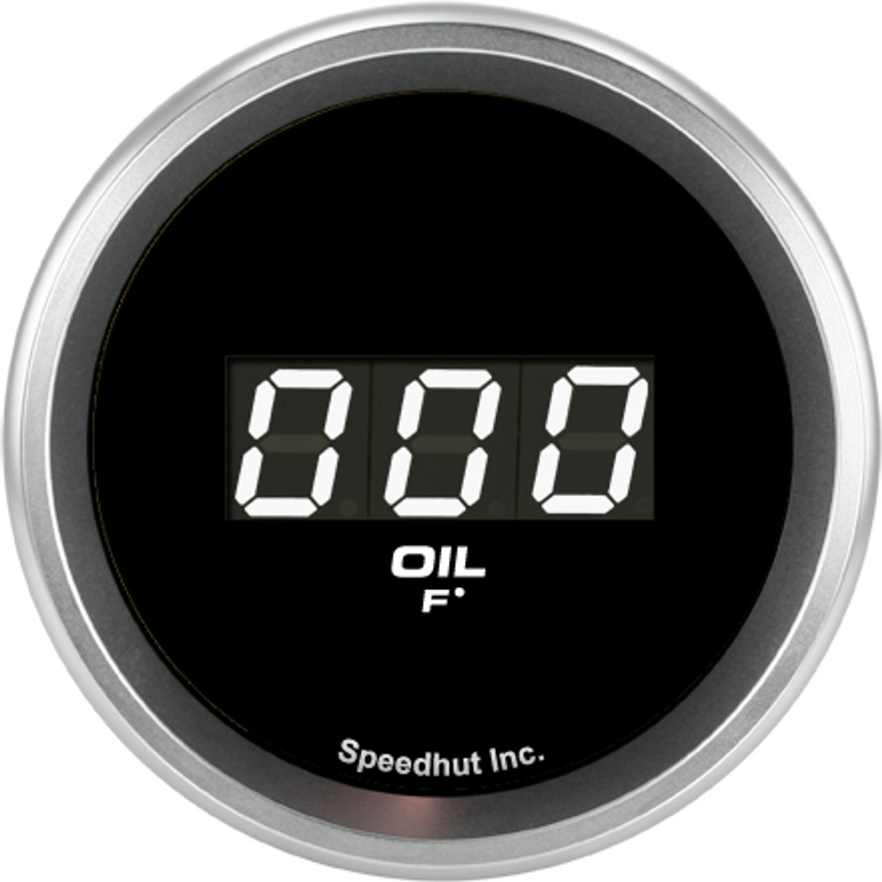 """2-1/16"""" Oil Temp Digital Gauge 60-300F"""