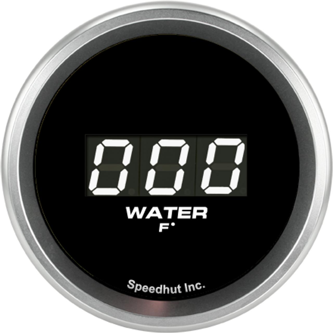 """2-1/16"""" Water Temp Digital Gauge 60-300F"""