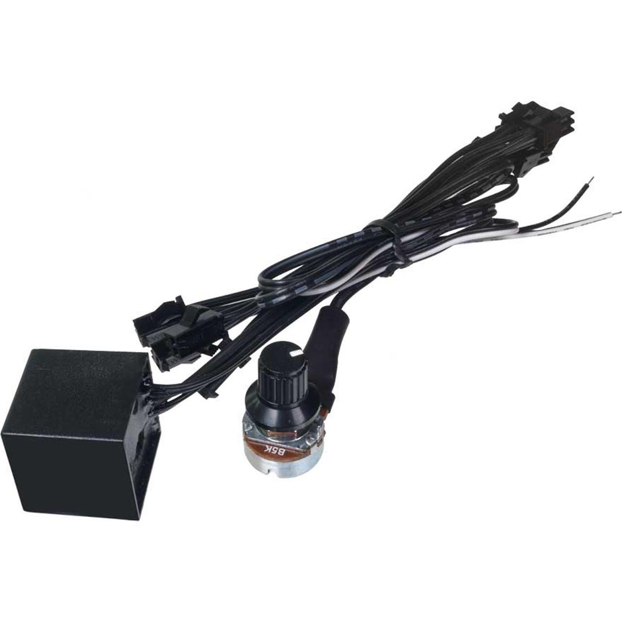 Gauge Lighting Inverter for Multiple Gauges with Dimmer