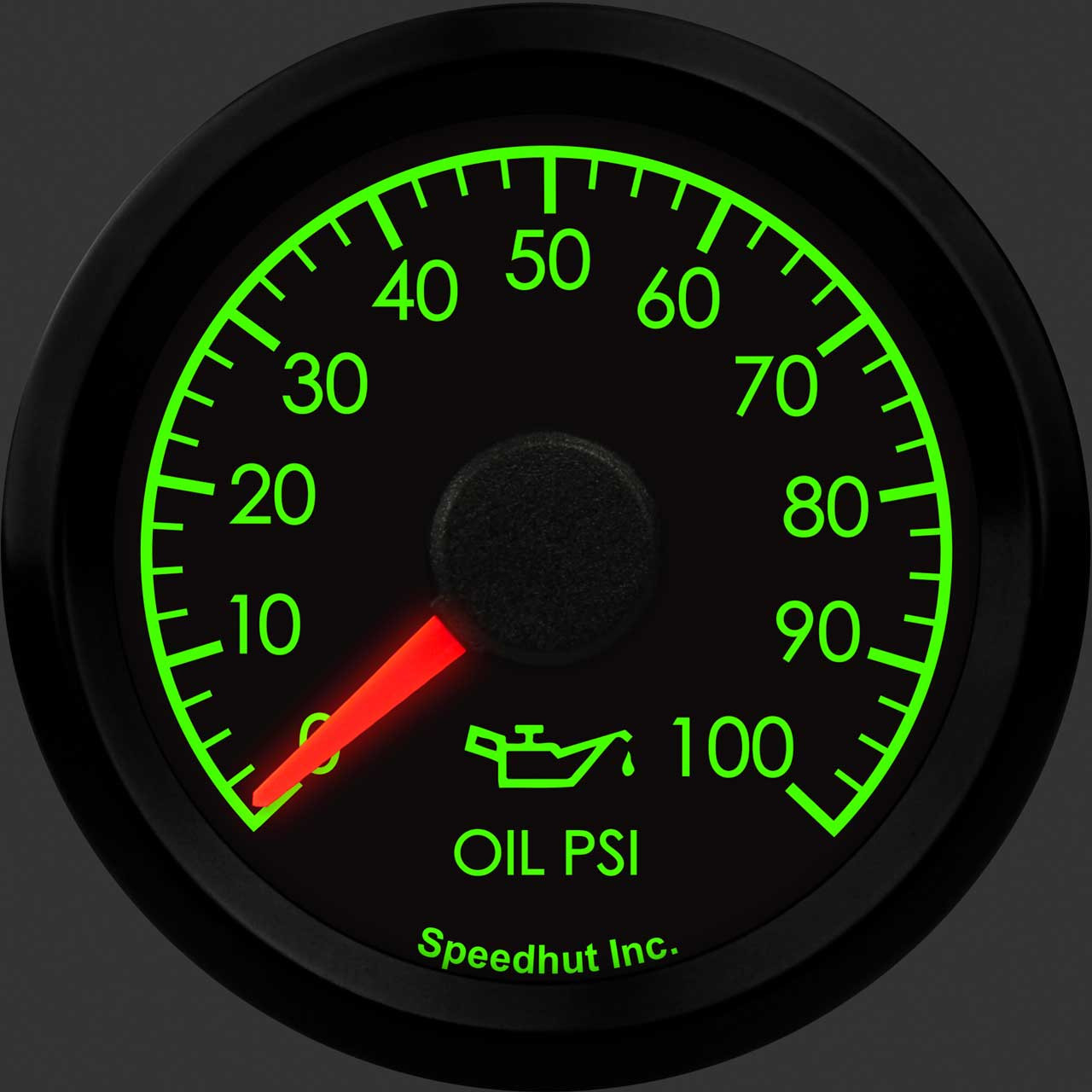 """2-1/16"""" Humvee Oil Pressure Gauge 0-100psi"""