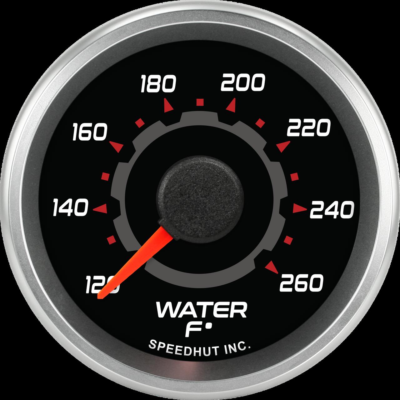 "2-1/16"" Lynx Polaris GENERAL Water Temp Gauge 120-260F"