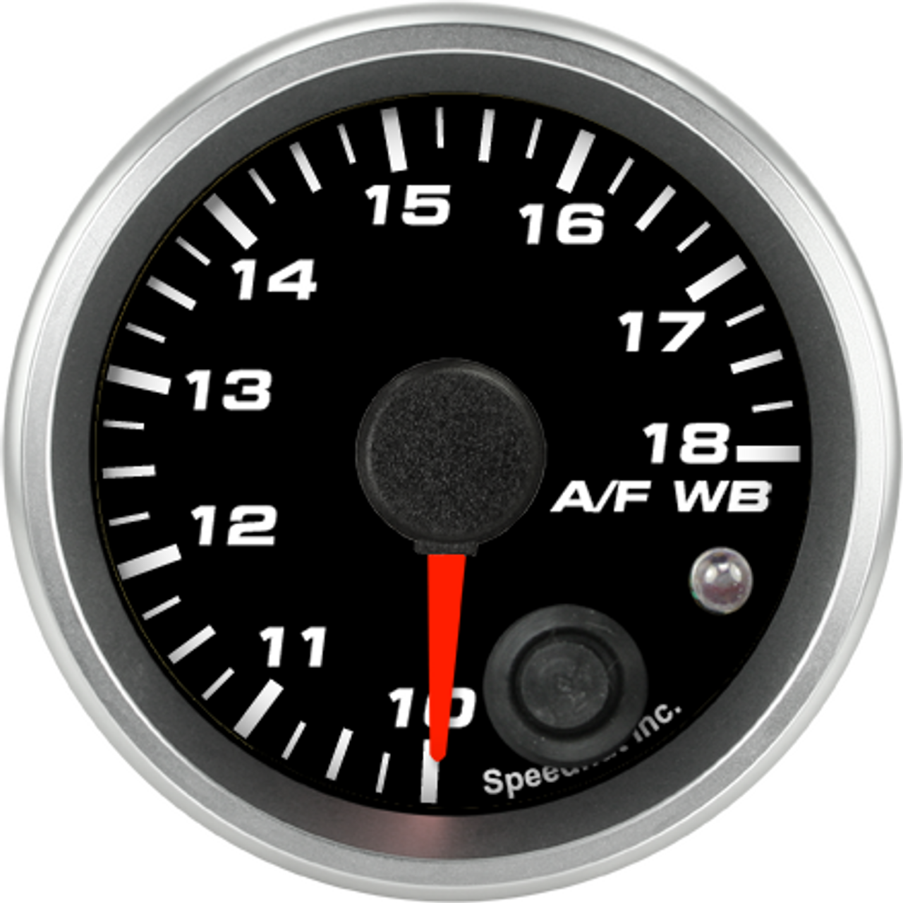 """2-1/16"""" Air/Fuel Gauge Wide Band 10-18 (w/ warning) (FOR INNOVATE)"""