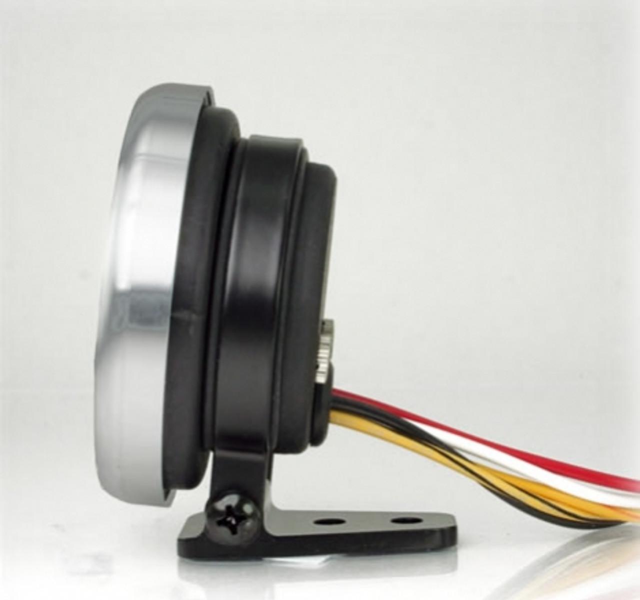 2-1/16 inch & 2-5/8 inch Gauge mounting bracket pedestal mount