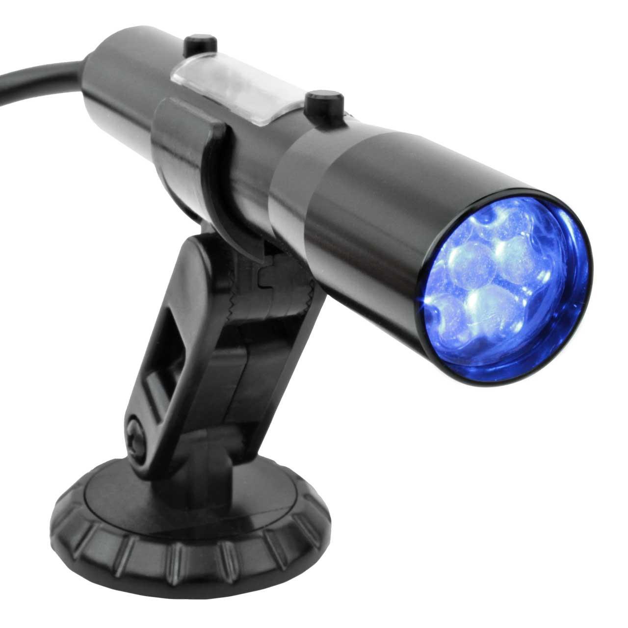 SST Shift Light - Blue LEDs with Black Aluminum Tube (Smart-Shift Technology)
