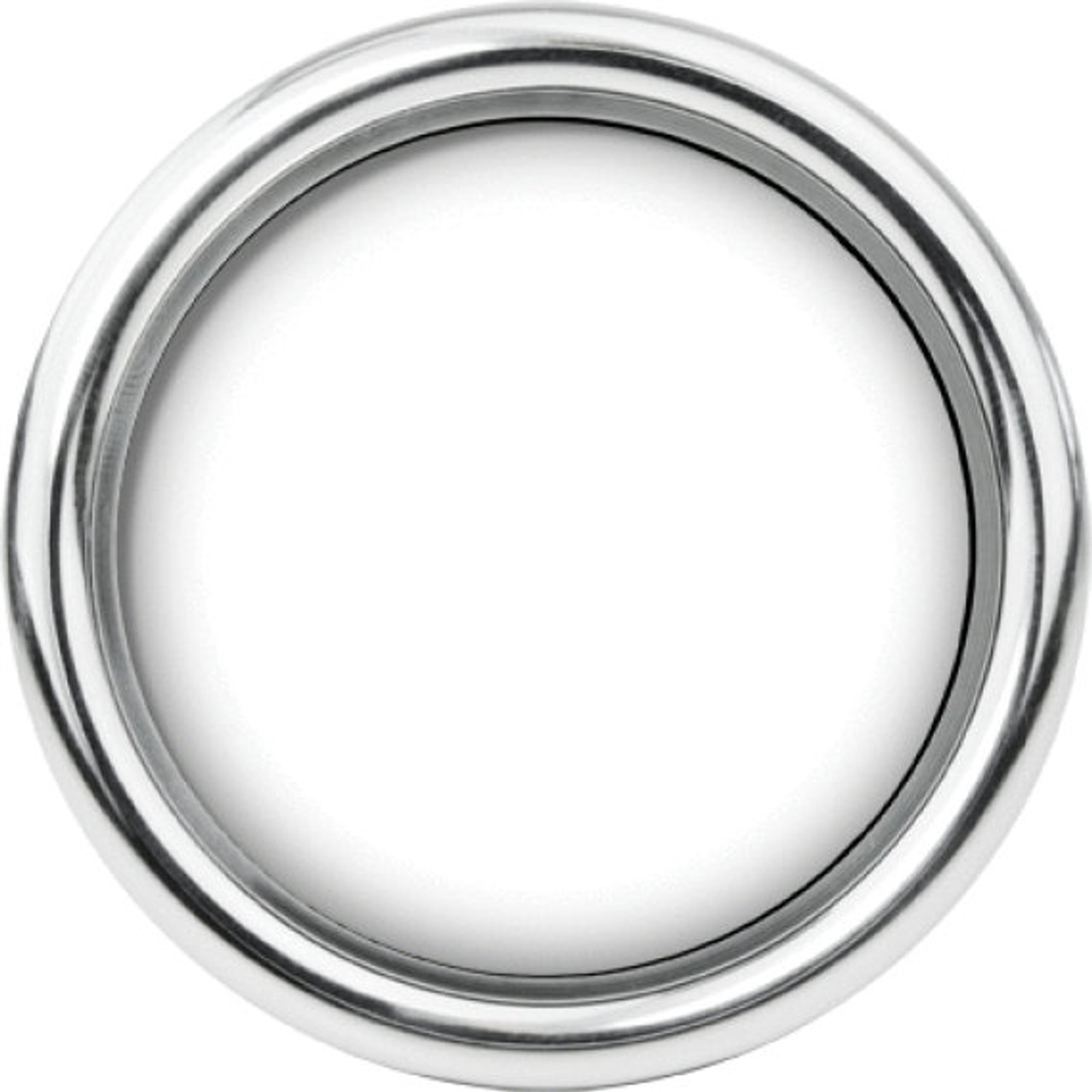 """Chrome Smoothie Replacement Bezel for 2-1/16"""" gauge"""