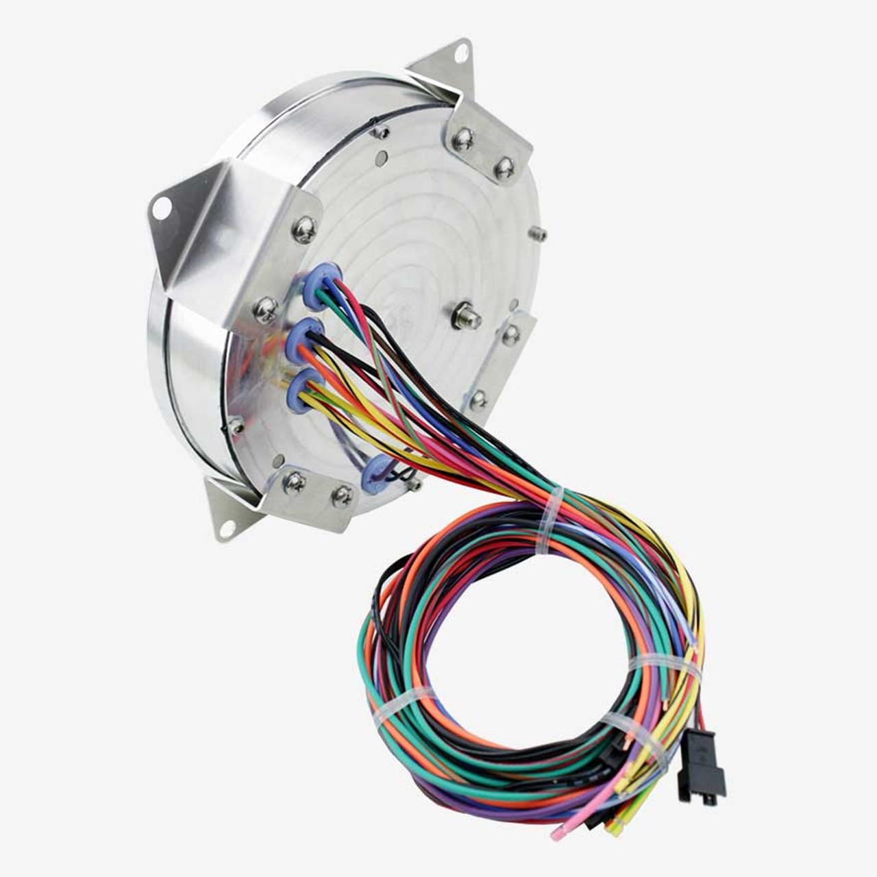 "5-1/2"" CJ Jeep GPS Speedometer Cluster 90mph with Tachometer- Speedo, Fuel Level, Temp, Tach"