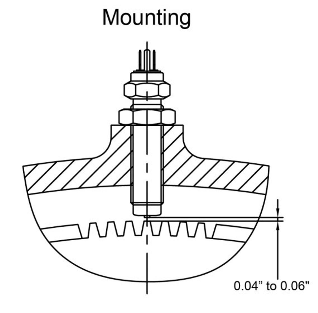 Magnetic Htz. Universal Speedometer Sensor
