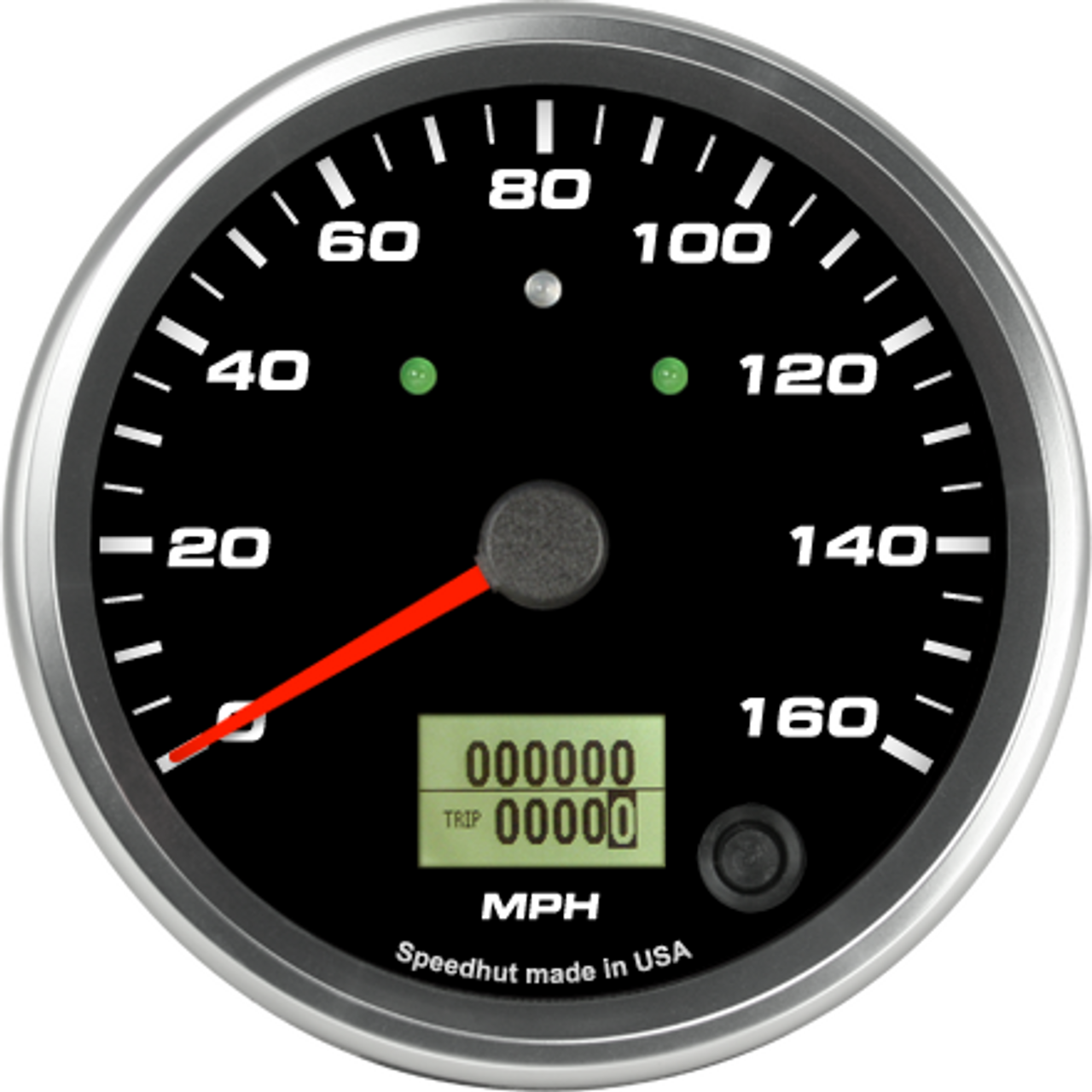 """4"""" Speedometer 160mph programmable (w/ turn signal and high beam)"""