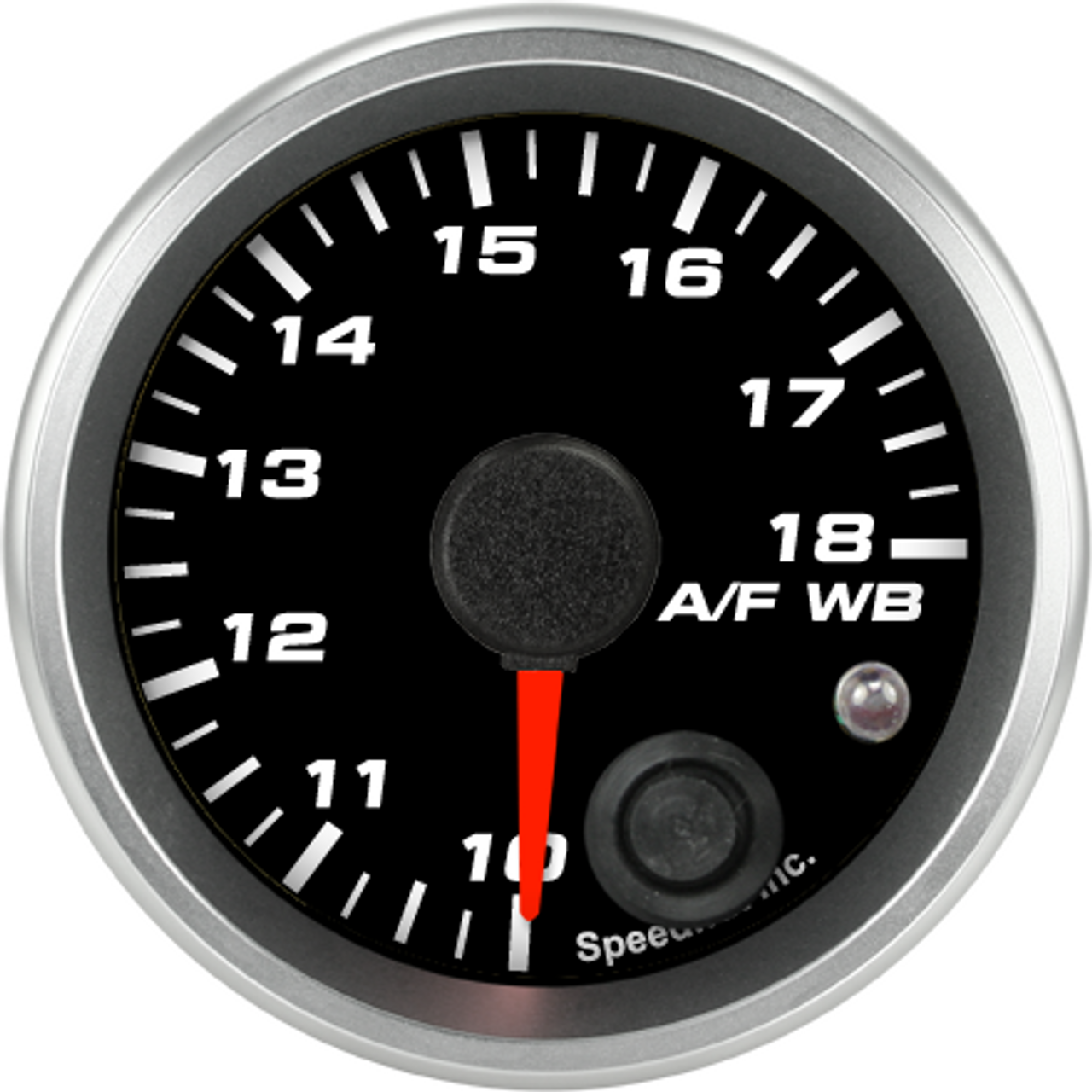 """2-1/16"""" Air/Fuel Gauge Wide Band 10-18 (w/ warning) (FOR PLX)"""