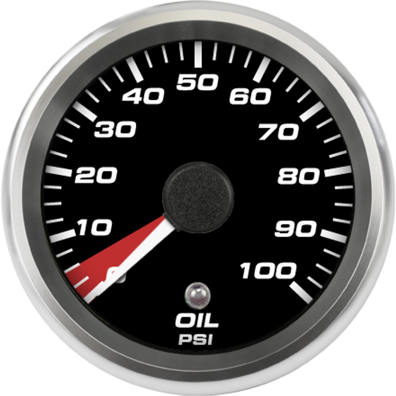 """2-5/8"""" 2004-06 Ford GT Supercar Oil psi Gauge"""