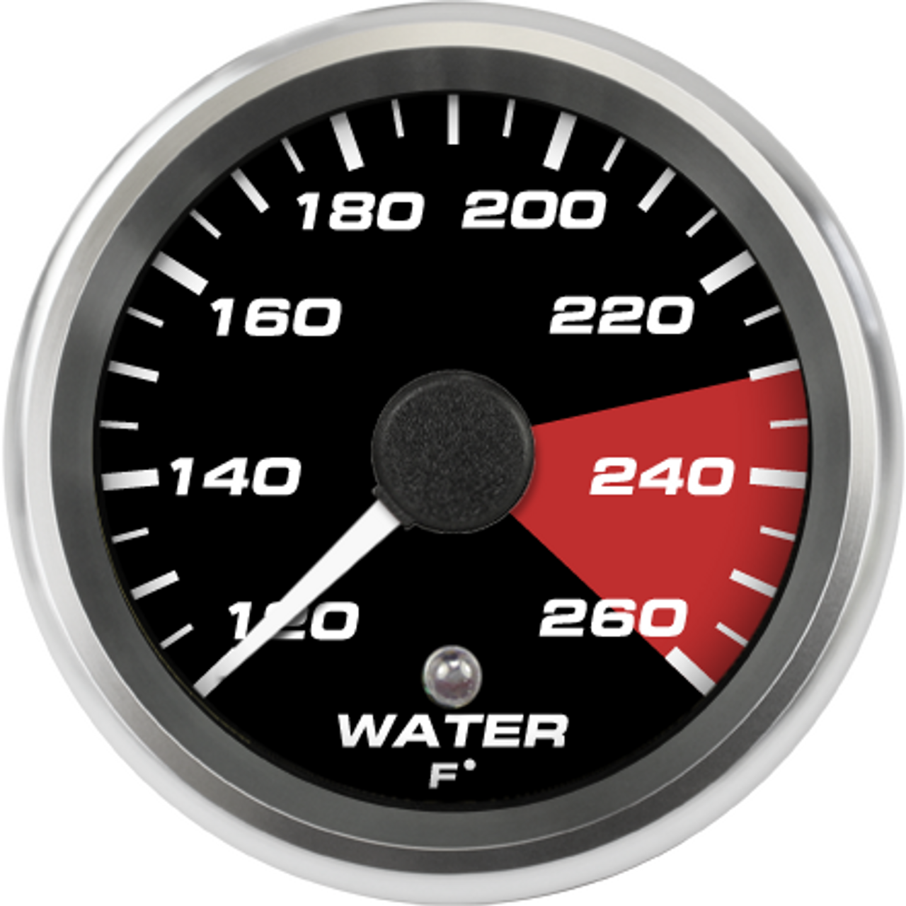 "2-5/8"" 2004-06 Ford GT Supercar Water Temp gauge"