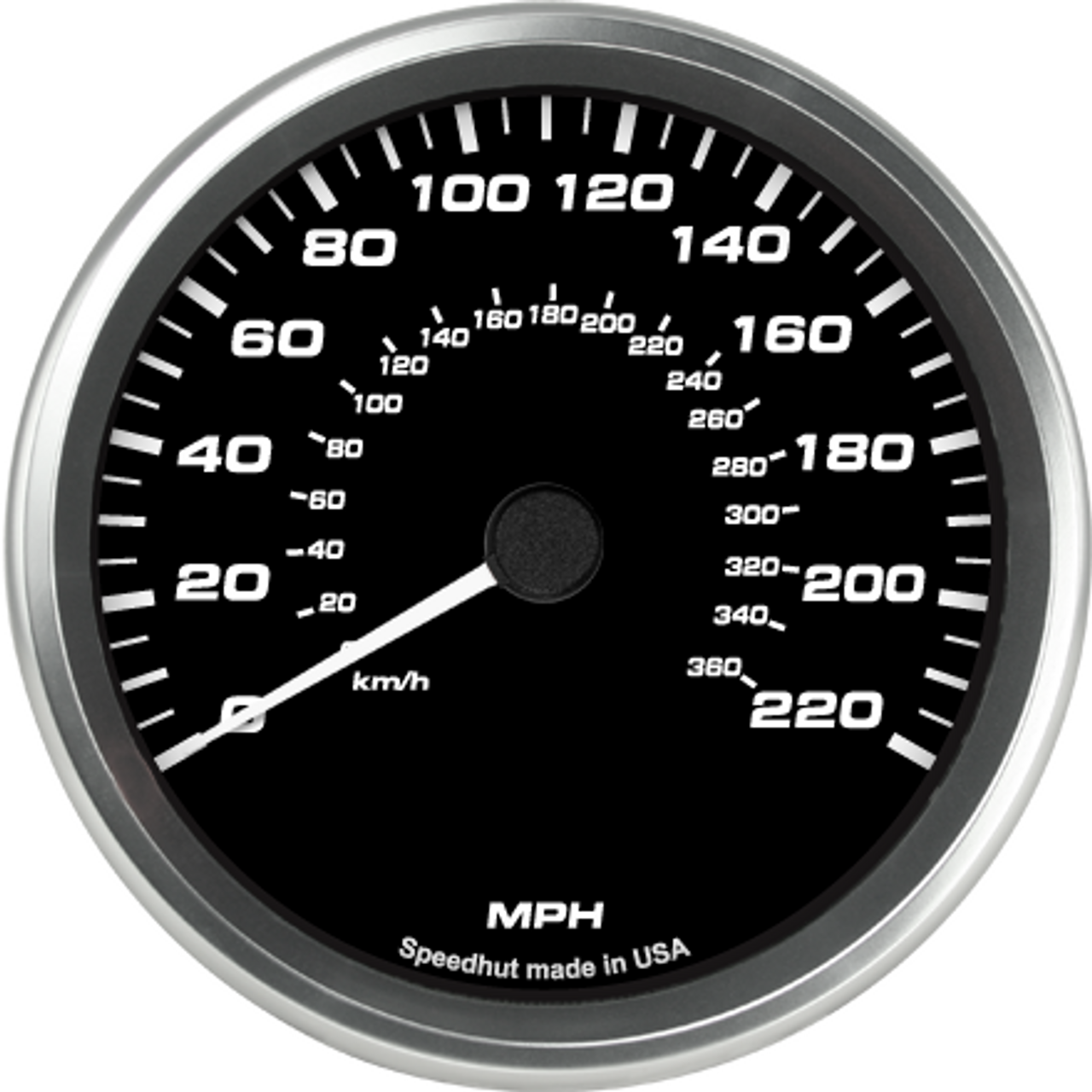 """4-1/2"""" 2004-06 Ford GT Supercar Speedometer"""