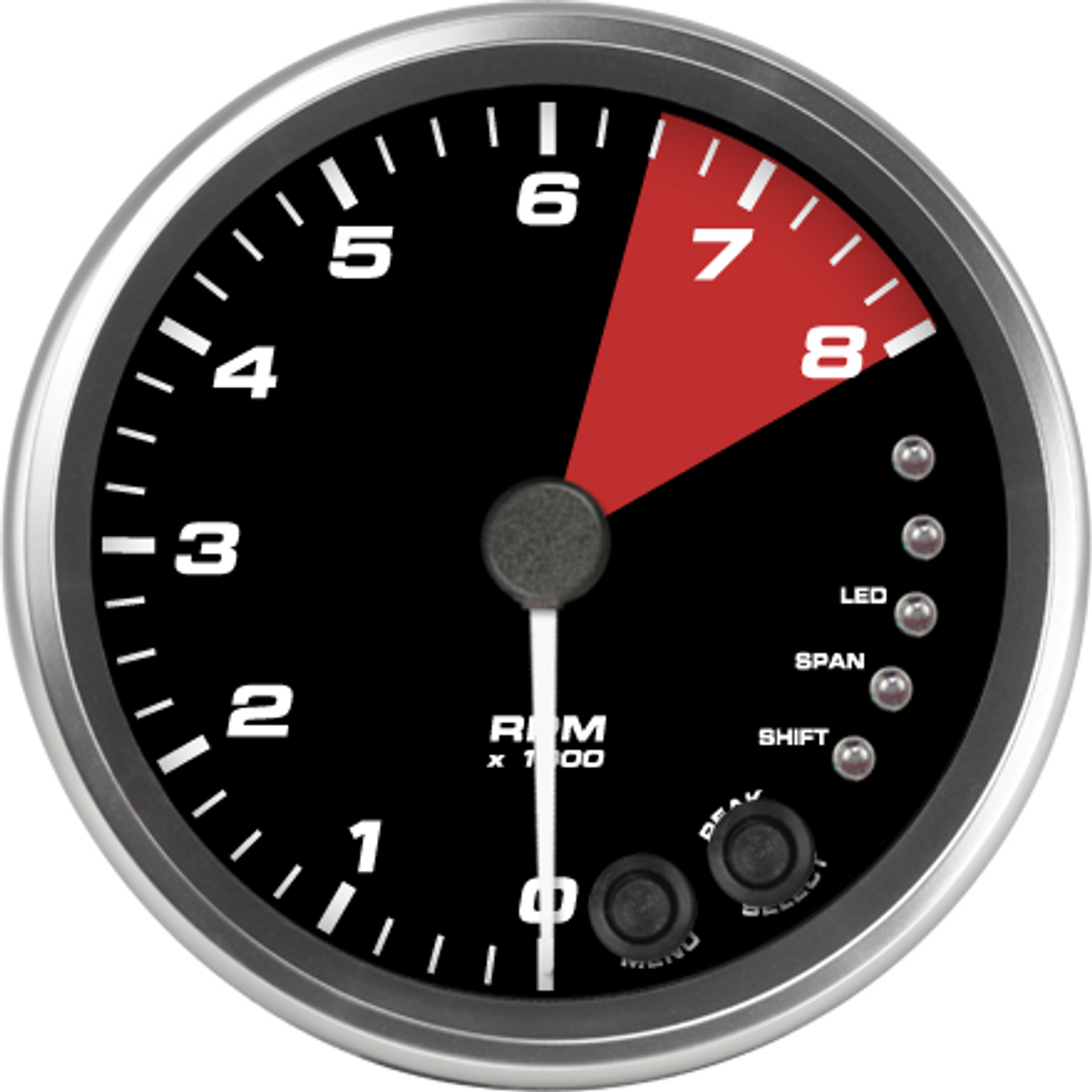 """4"""" 2004-06 Ford GT Supercar Tachometer with Internal Shift light"""