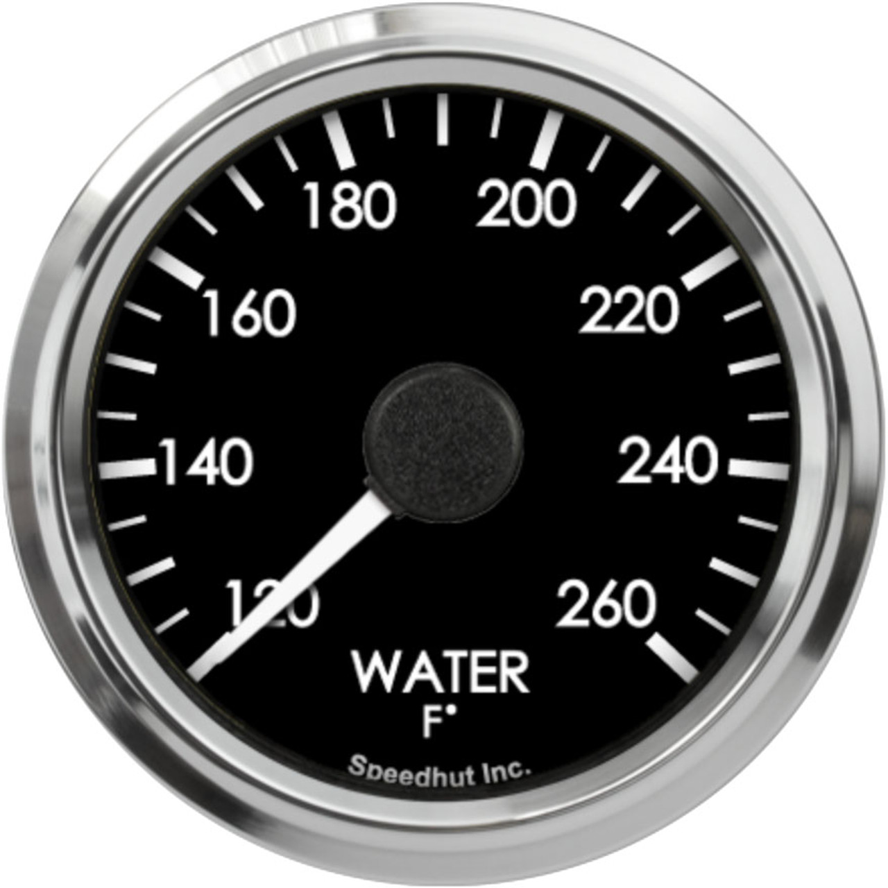 """2-5/8"""" Freedom CAN-BUS Water Temp Gauge 120-260F"""
