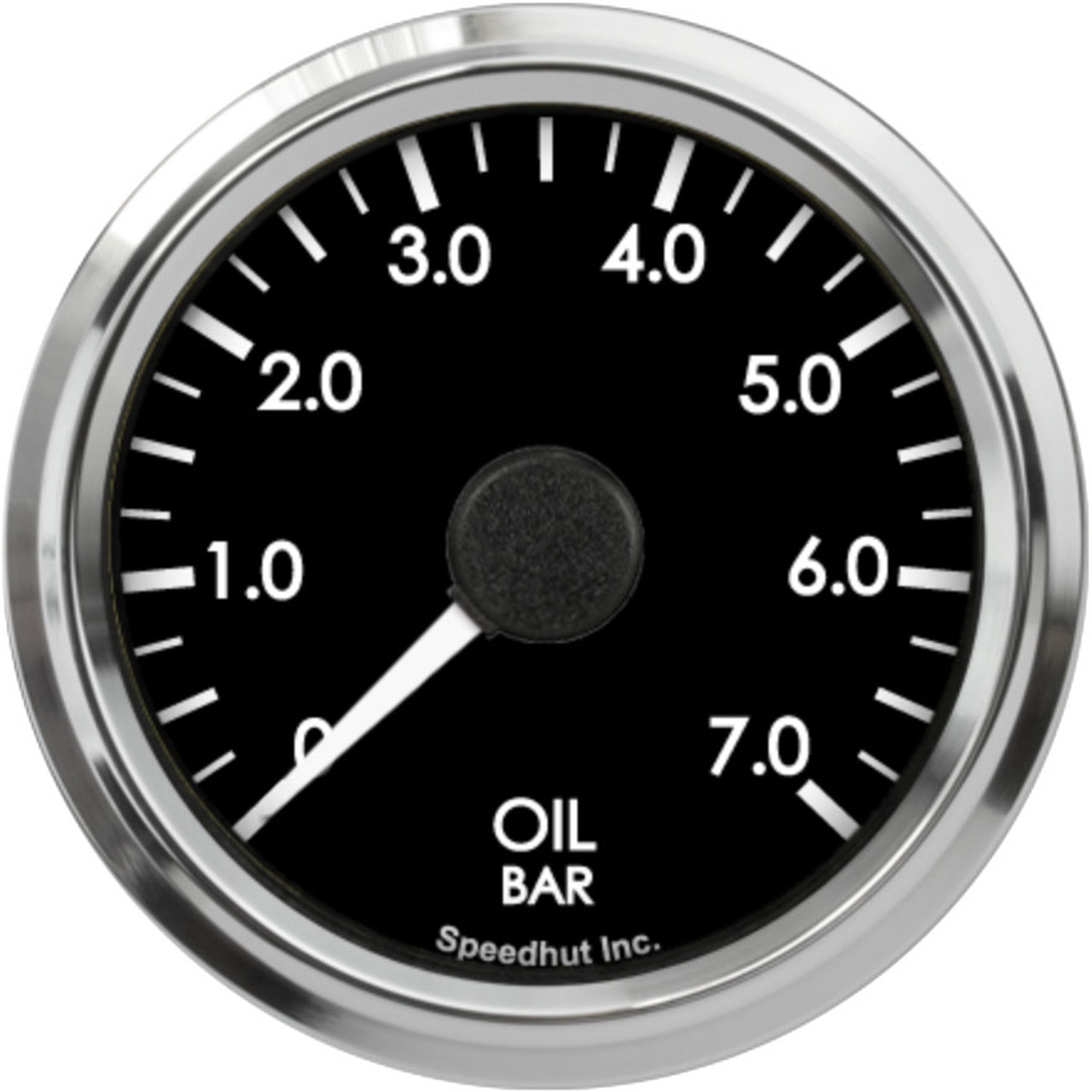 """2-5/8"""" Freedom CAN-BUS Oil Pressure Gauge 0-7 bar (For GM vehicles only)"""