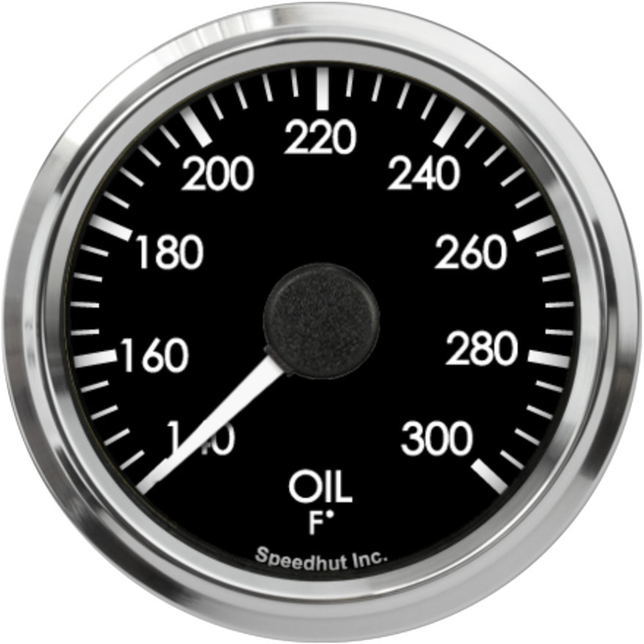 """2-5/8"""" Freedom CAN-BUS Oil Temp Gauge 140-300F (For GM vehicles only)"""