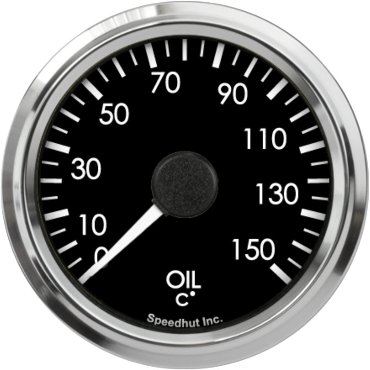 """2-5/8"""" Freedom CAN-BUS Oil Temp Gauge 60-150C Metric (For GM vehicles only)"""