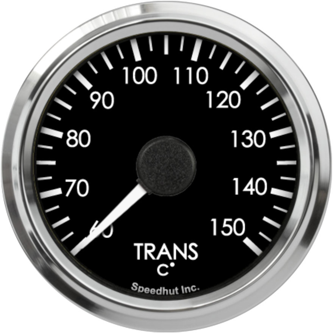 """2-5/8"""" Freedom CAN-BUS Trans Temp Gauge 60-150C Metric (For GM vehicles only)"""