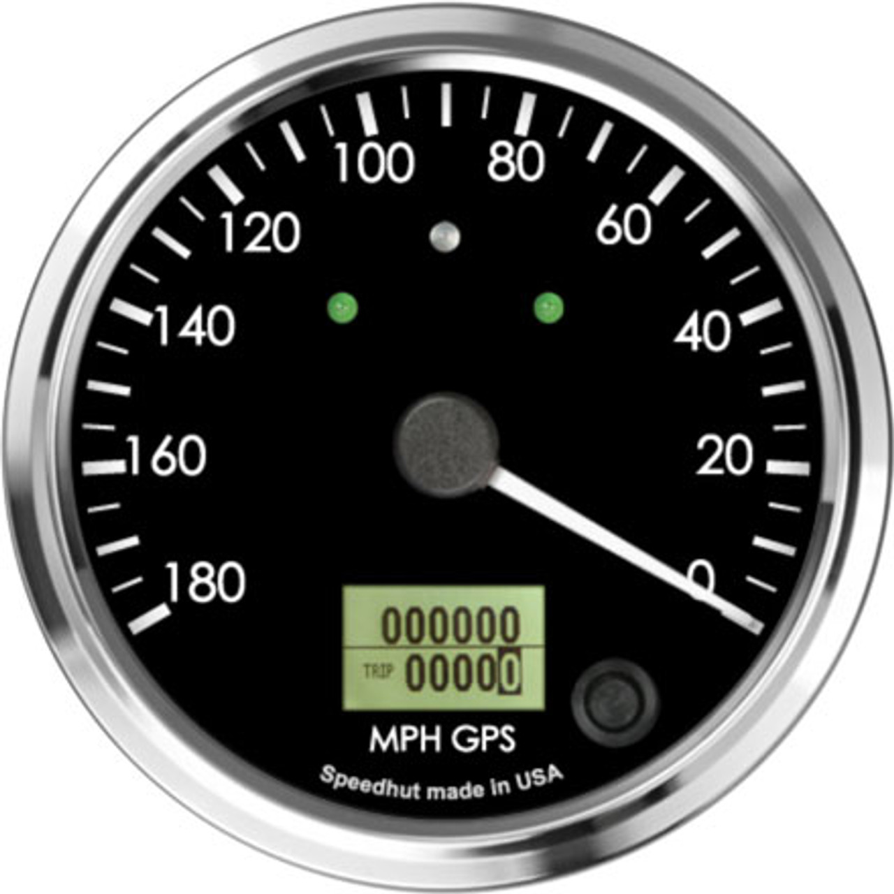 """4"""" Cobra GPS Speedometer 180mph (Counter Clockwise with turn signals and high beam)"""