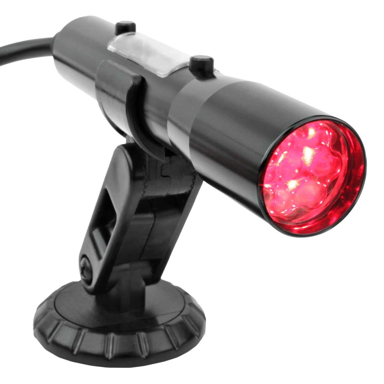 SST-MAX OBDII Shift Light Red LEDs - Black Tube (Compatible with 2008 and newer vehicles)