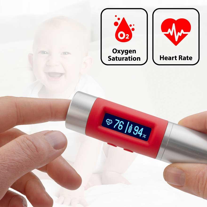 vitalmeter SpO2 heart rate monitor