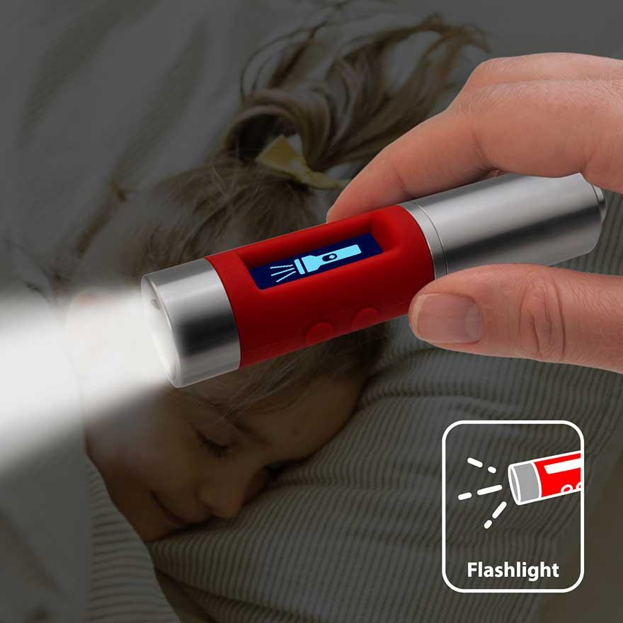 vitalmeter flashlight