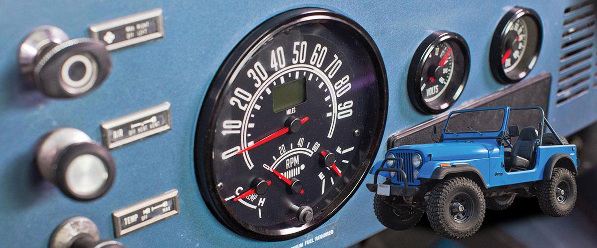 cj jeep gauges