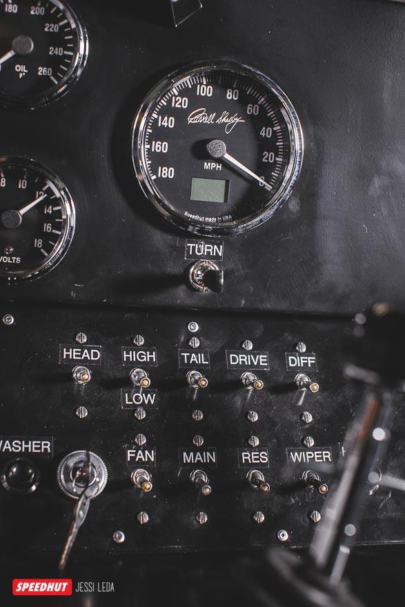 shelby cobra gauges