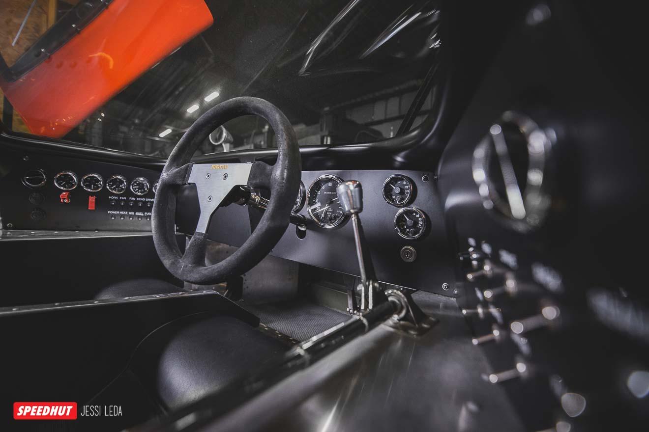 mclaren interior dashboard