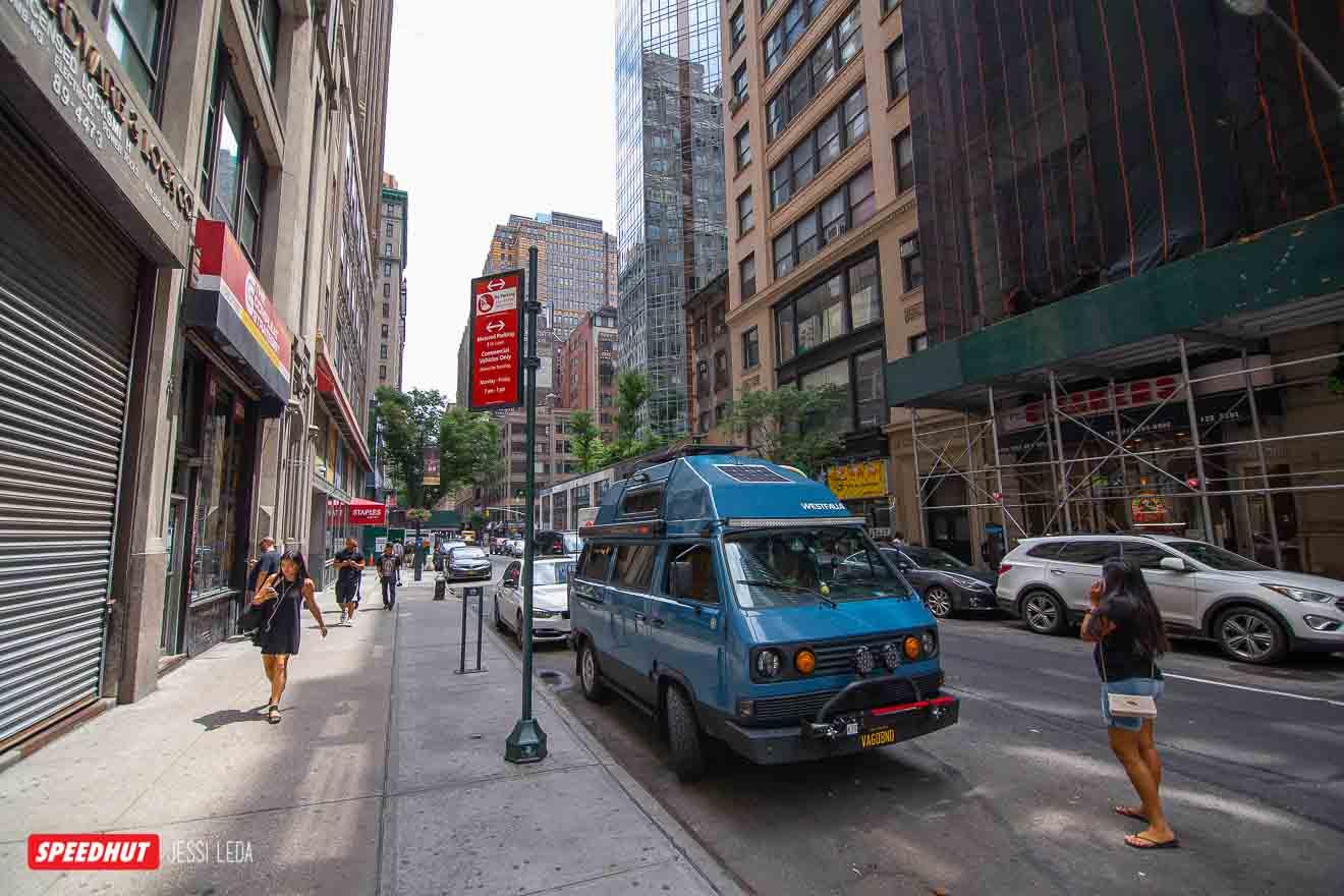 vanagon westfalia in new york city image