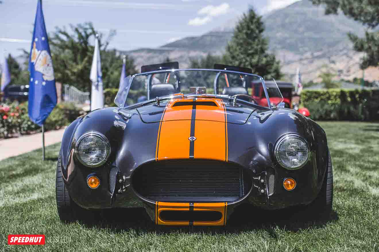 front image of shelby cobra