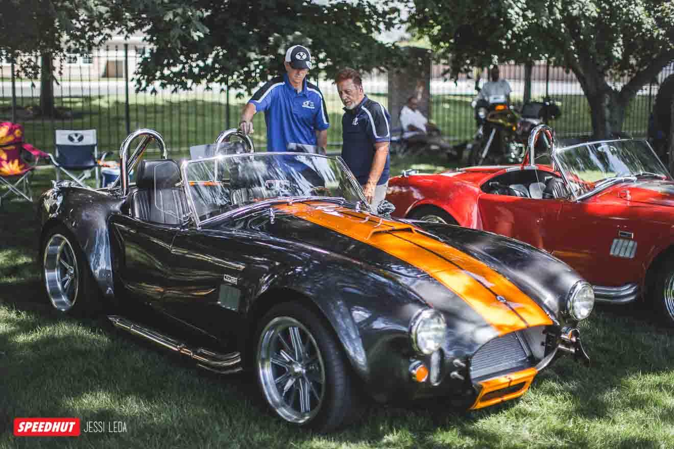 shelby cobra at car show image