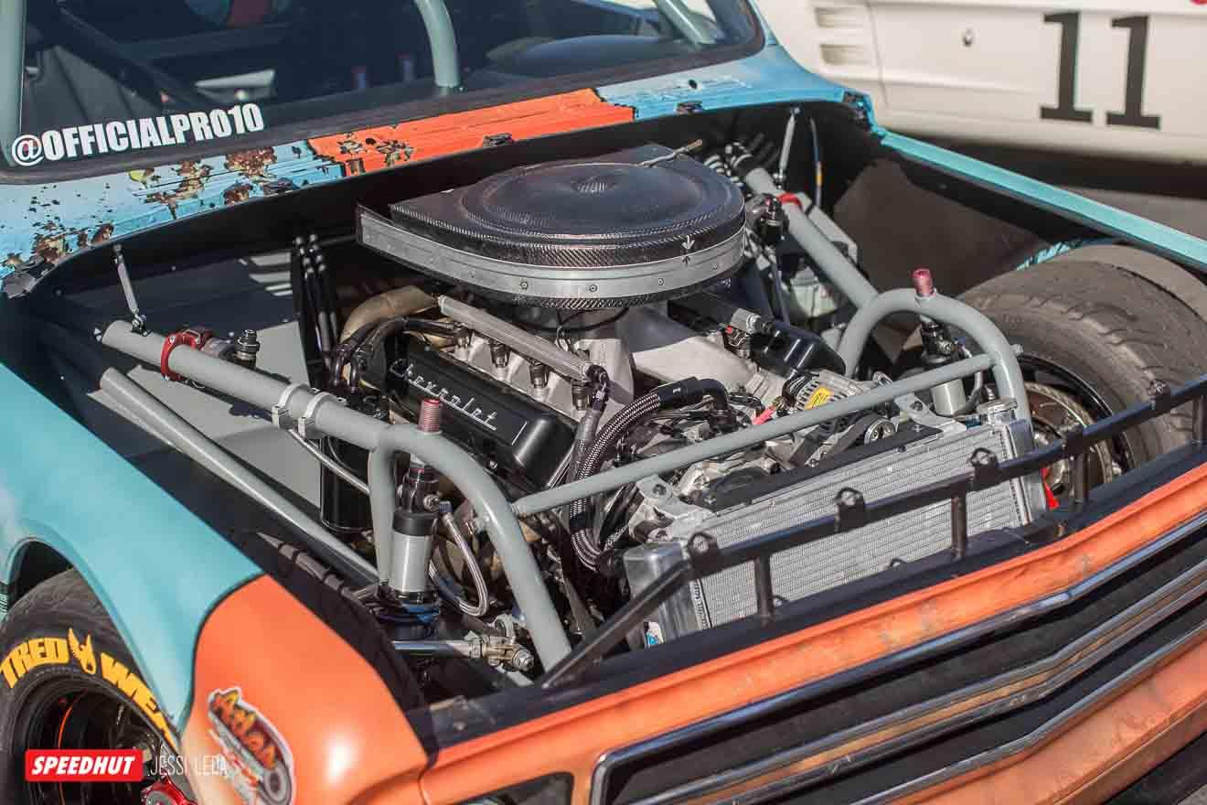 c10 race truck engine