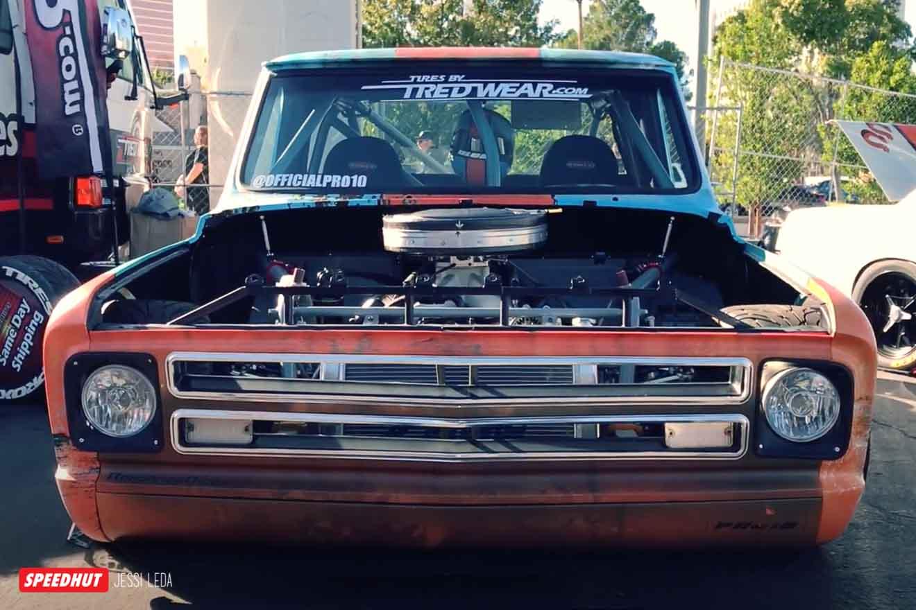 C10 race truck front