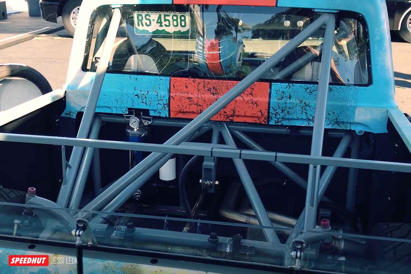 rear of c10 truck