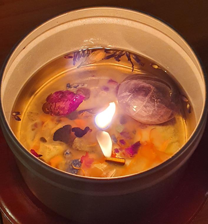 Elemental Gemstone Surprise Candle