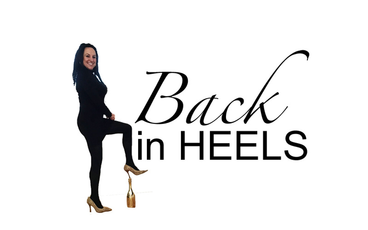 FOLLOW ME WEARING HEELS INTO THE NEW YEAR!