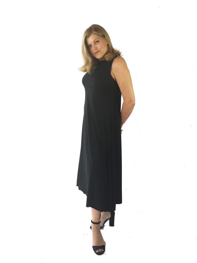 LONG SWING DRESS