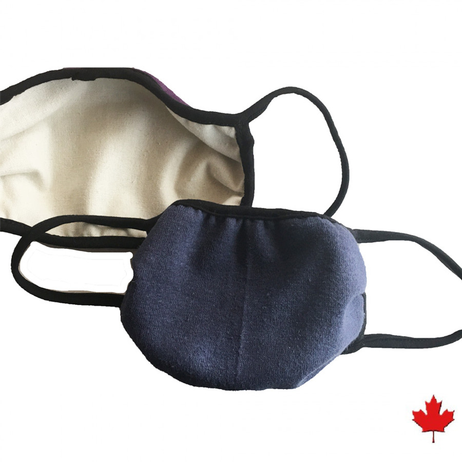 HEMP SLING MASK-BLUE
