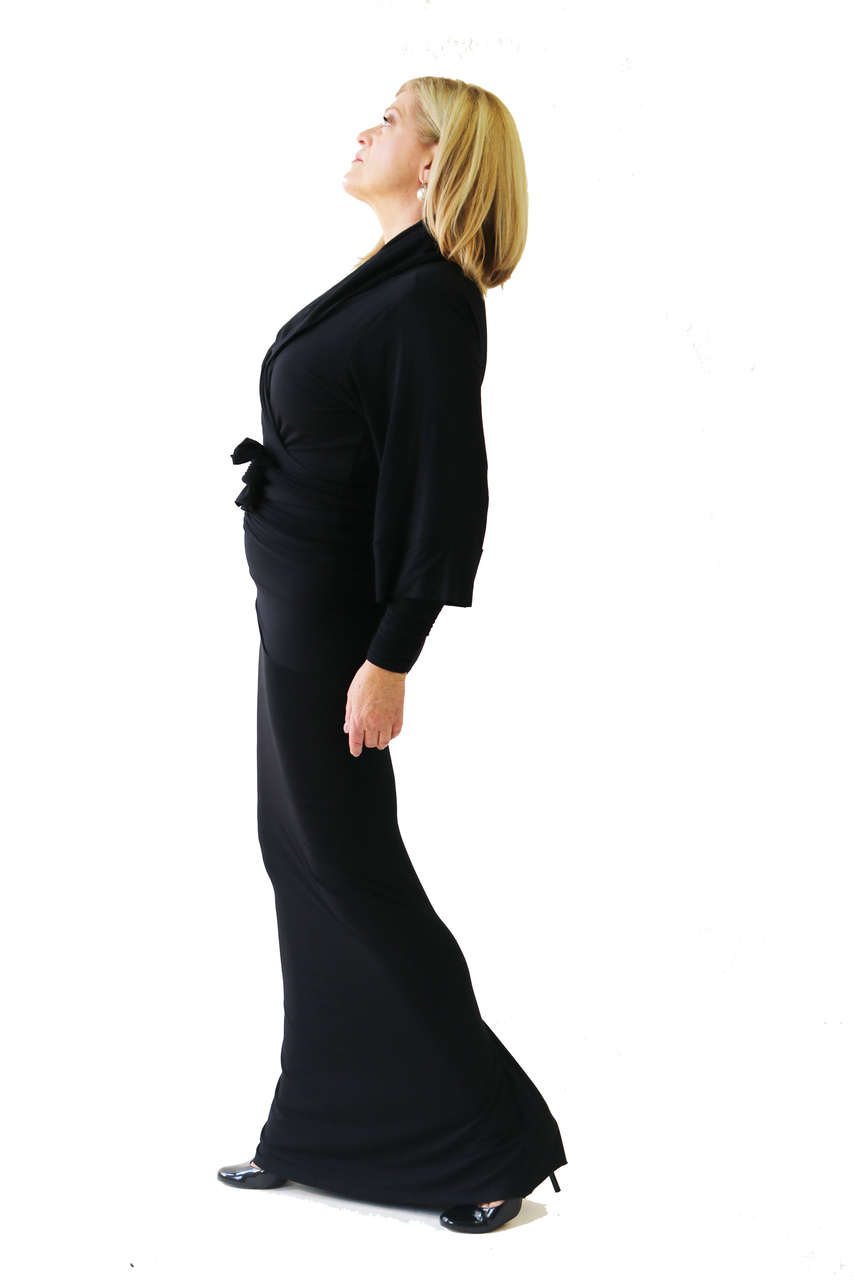 7dc540229c16c The perfect long bamboo skirt for stage. Where it as a shirt with extra  midsection