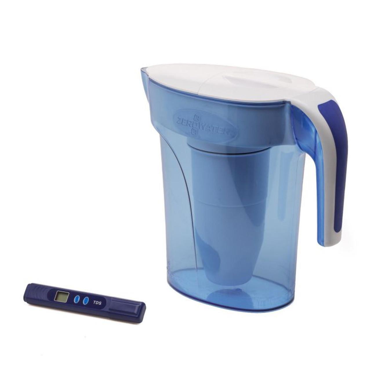 Zerowater Slim Water Filter Jug 7 Cup 1 66 Litre Healthy Home