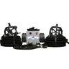 2-Man Supplied Air Respirator w/Fullface Masks