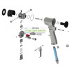 A-Side Check Valve Kit for Graco Fusion CS Spray Gun